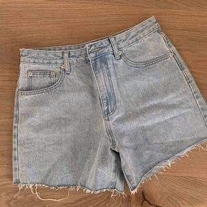 Assembly Label Jean Shorts